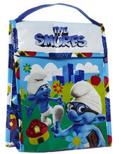 The Smurfs Insulated Enviroment Safety Lunch Bag