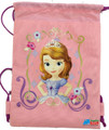 Drawstring Bag - Sofia the 1st Sophia Pink Cloth String Bag