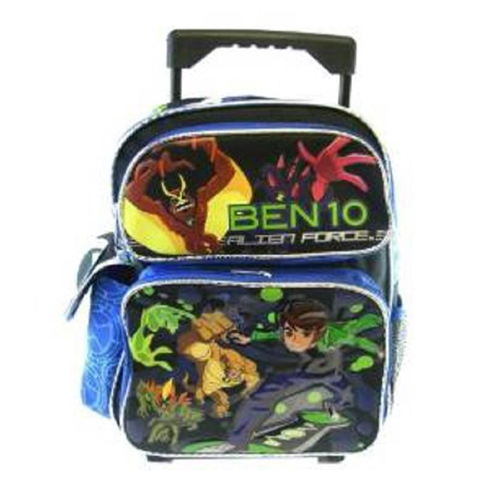Rolling Backpack - Ben 10 - Small 12 Inch
