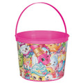 Shopkins Plastic Favor Bucket Container ( 1pc )