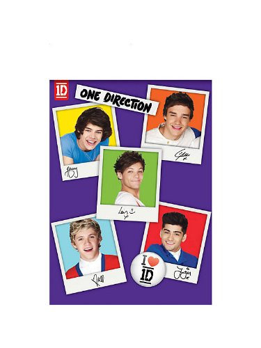 One Direction 1D Tablecover Table Cloth Party Zayn Harry Niall Liam Louis