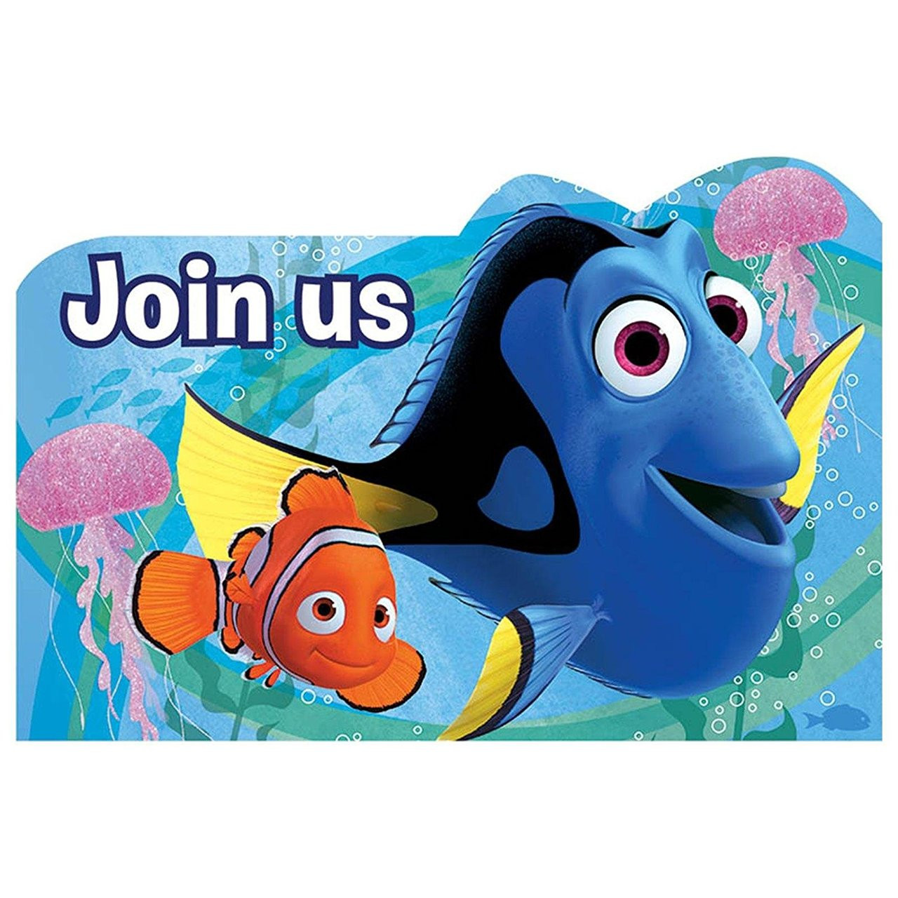 Finding Dory Postcard Invitations Pack of 8