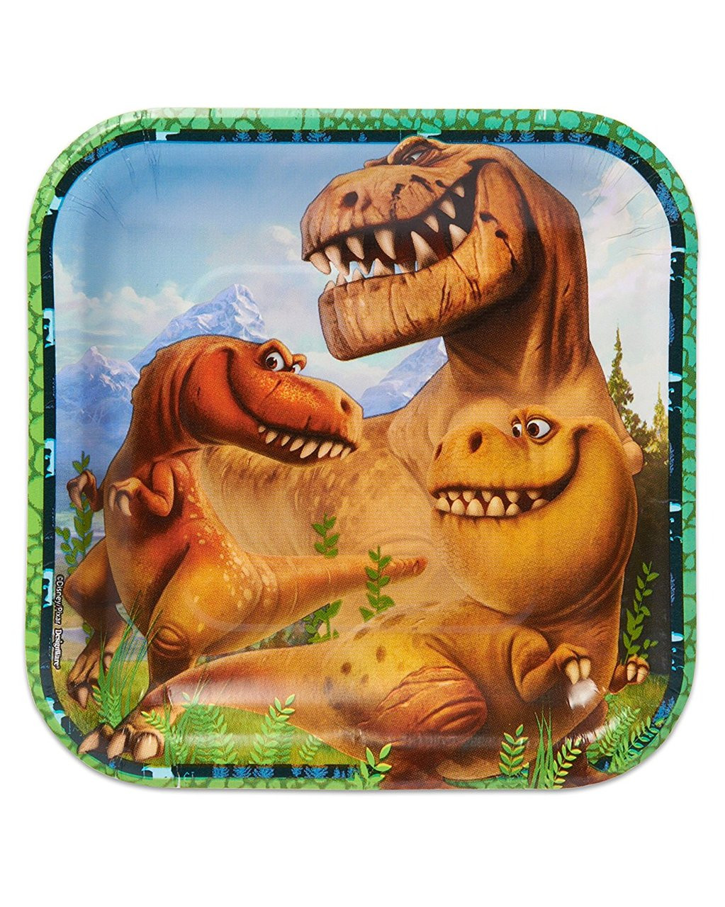 The Good Dinosaur Small 7 Inch Party Cake Dessert Plates