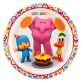 Pocoyo Large Round 9 Inch Lunch Dinner Plates