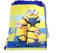 Drawstring Bag - Minions Blue/Yellow Cloth String Bag