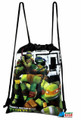 Drawstring Bag - Teenage Mutant Ninja Turtles Black Cloth String Bag
