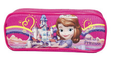 Sofia the First Plastic Pencil Case Pencil Box - Hot Pink