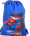 Spider Man Blue Cloth Drawstring String Backpack
