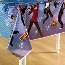 Camp Rock Plastic Tablecover Table Cover