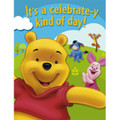 Winnie the Pooh Pack of 8 Invitations