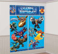 Skylanders Giant Scene Setter Wall Decorating Kit