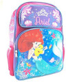Princess Ariel 16 Inch Large Backpack - Crown