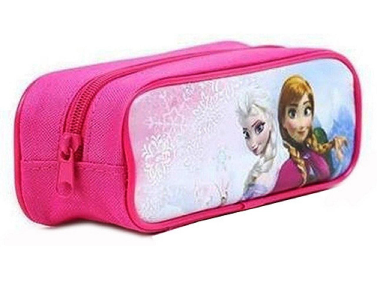 Frozen Princess Anna Elsa Cloth Pencil Case Pencil Box - Pink