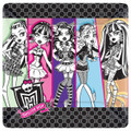 Monster High Large 10 Inch Square Lunch Dinner Plates