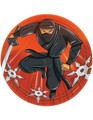 Ninja Small 7 Inch Party Cake Dessert Plates