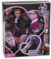 """Monster High """"Sweet 1600th"""" Clawdeen Wolf Plastic Doll with Key for App"""