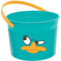 Phineas and Ferb Agent P Perry Plastic Favor Bucket Container ( 1pc )