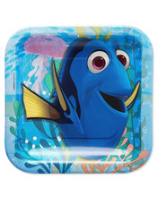 Finding Dory Small 7 Inch Party Cake Dessert Plates