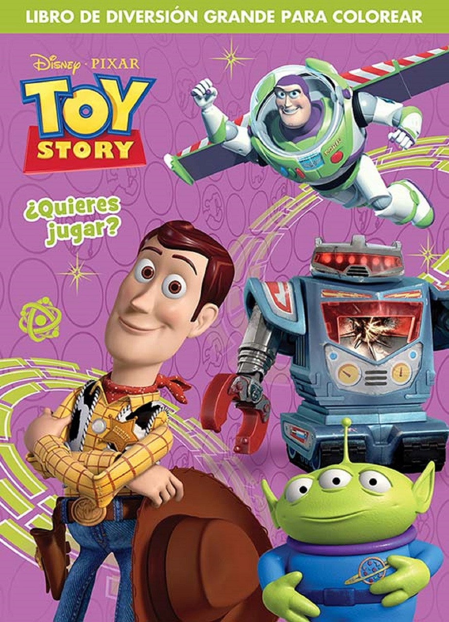 Toy Story Coloring Activity Book   Partytoyz.com
