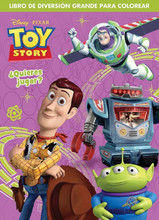 """Toy Story Spanish 96 pg. Coloring Book - """"Quieres Jugar?"""""""