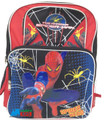 "Spiderman Large 16"" Cloth Backpack Book Bag Pack - Spider Hero"