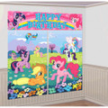 My Little Pony Giant Scene Setter Wall Decorating Kit