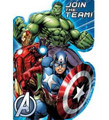 Avengers Hulk, Iron Man, Captain America Pack of 8 Invitations