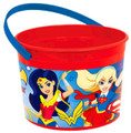 DC Superhero Girl Plastic Bucket Container (1 pc)