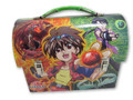 Bakugan Dome Carry All Tin Stationery Lunch Box Lunchbox - Green