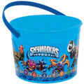 Skylanders Plastic Favor Bucket Container ( 1pc )
