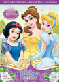 Disney Princess 96 pg. Big Fun Book to color -Jardin de Sue?os