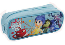 Inside Out Pencil Case Pencil Box - Light Blue