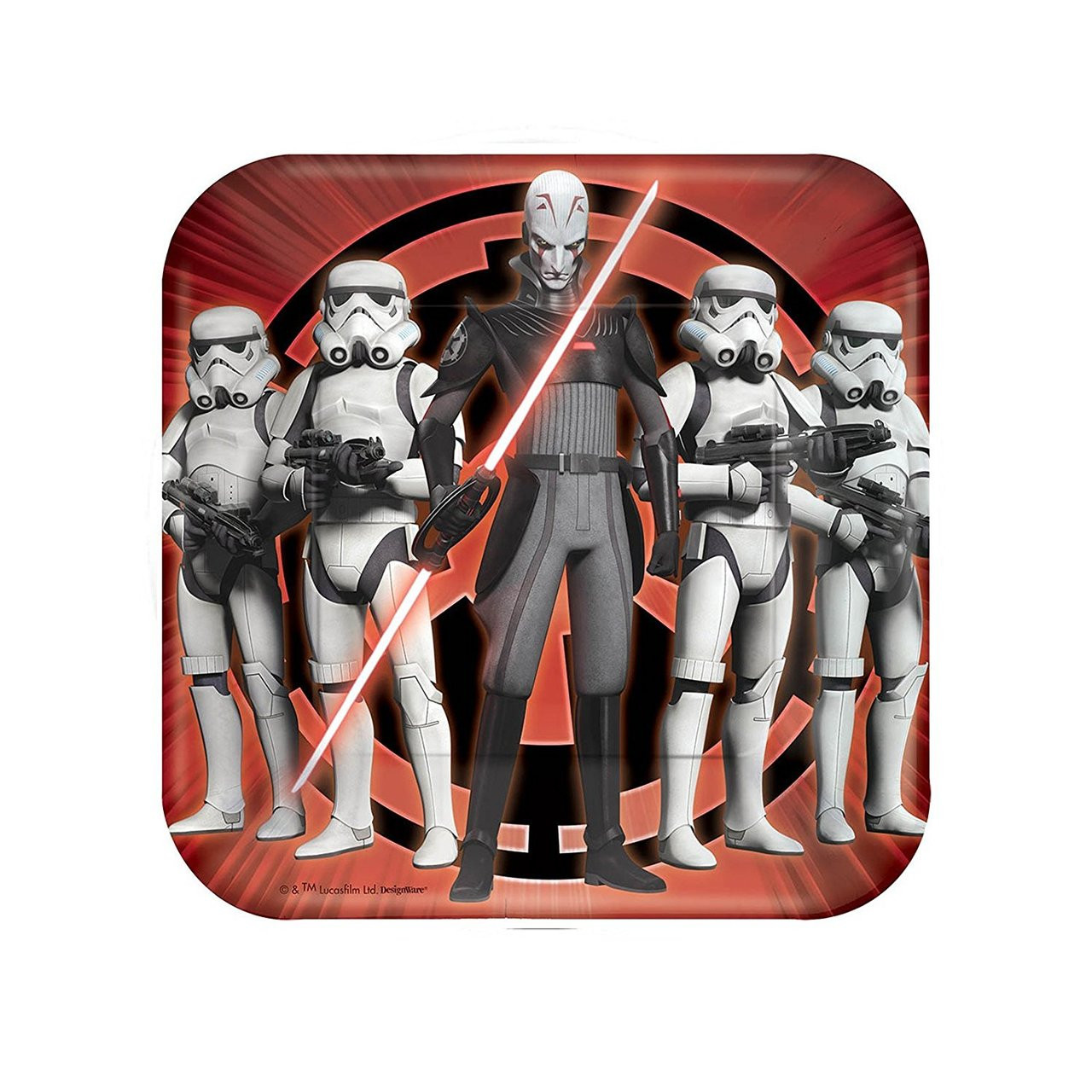 Star Wars Rebels Small 7 Inch Party Cake Dessert Plates