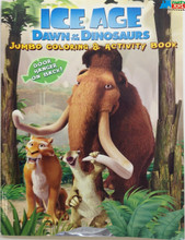 Ice Age Jumbo 96 pg. Coloring and Activity Book - Brown