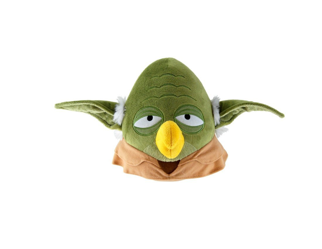 Angry Birds Star Wars Large 16 Inch Plush Toy - Green Yoda Bird