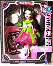 """A Monster High Story """"Snow Bite"""" Draculaura Plastic Doll and Accessories"""
