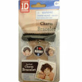 One Direction 1D Charm Bracelet Wristlet Charms - Harry