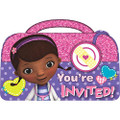 Doc McStuffins Pack of 8 Invitations  - Save the Date