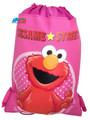 Drawstring Bag - Elmo Pink Cloth String Bag