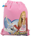 Drawstring Bag - Hannah Montana Pink Cloth String Bag