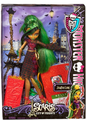 "Monster High ""Scaris"" Jinafire Long Plastic Doll and Accessories"