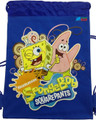 Drawstring Bag - Spongebob Squarepants Blue Cloth String Bag
