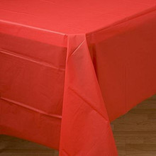 Red Table cover party birthday decorations
