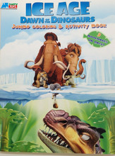 Ice Age Jumbo 96 pg. Coloring and Activity Book - Blue