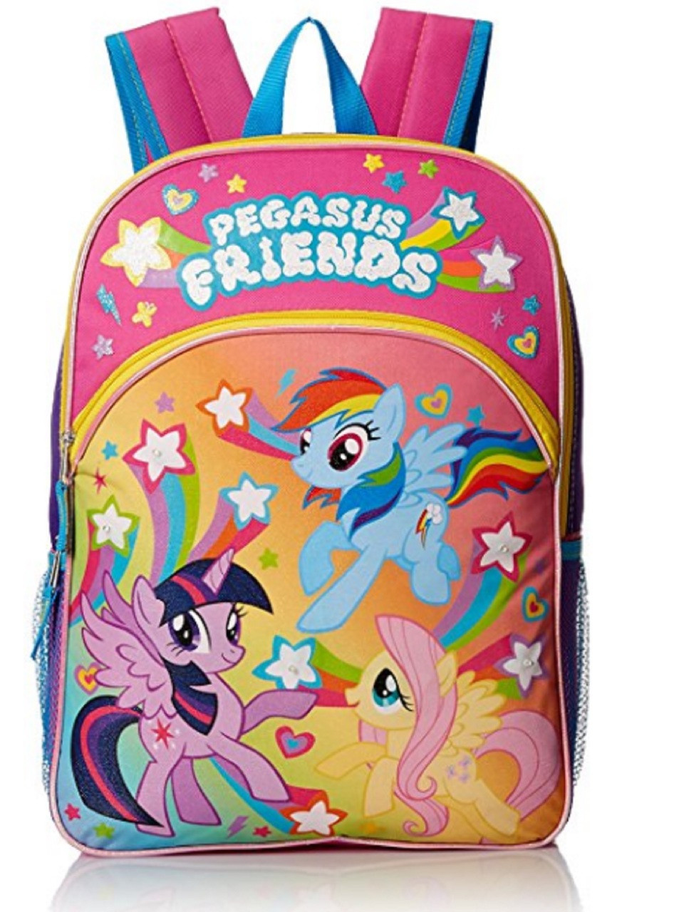 My Little Pony 16 Inch Large Backpack - Pegasus Friends