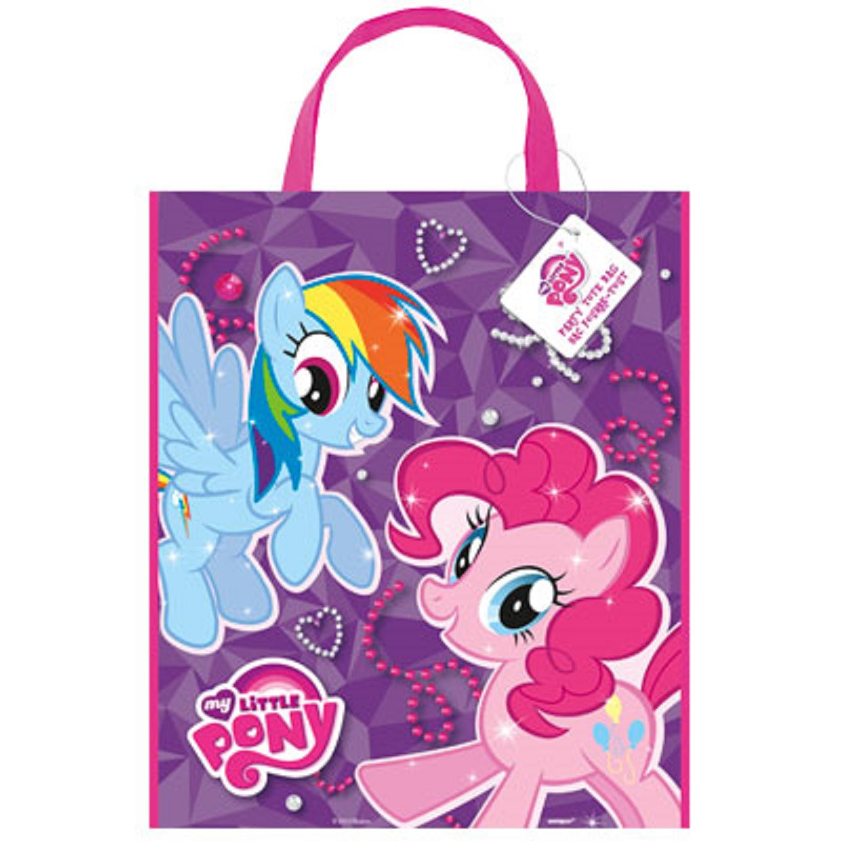 My Little Pony Large Party Tote Plastic Bag