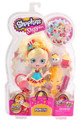 "Shopkins 6"" Plastic Toy Doll with Accessories - Popette"