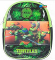 "Tennage Mutant Ninja Turtles Small Toddler 10"" Cloth Backpack Book Bag Pack"