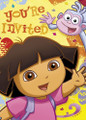 Dora The Explorer Pack of 8 Invitations
