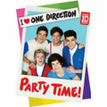 One Direction 1D Pack of 8 Invitations  Zayn Harry Liam Louis Niall